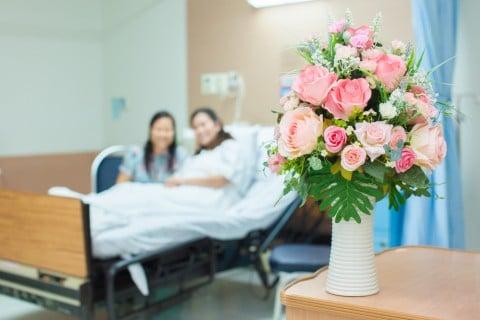 病院 花 入院