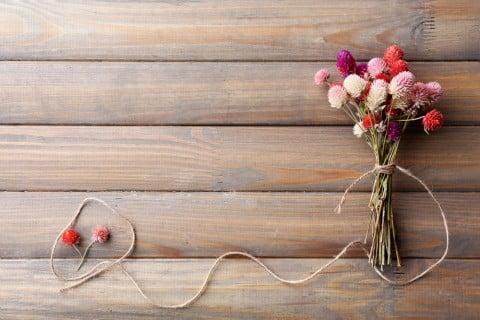 ドライフラワー 花束