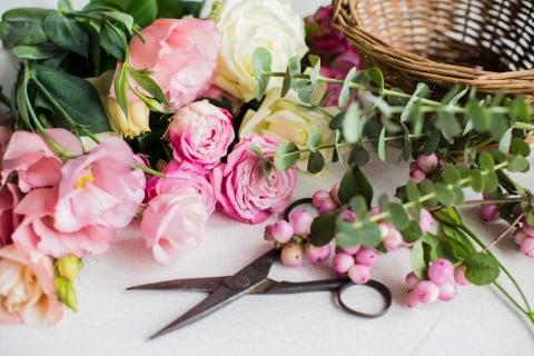 花束 作り方