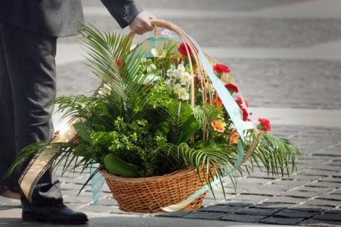 葬儀 花 葬式 お墓5