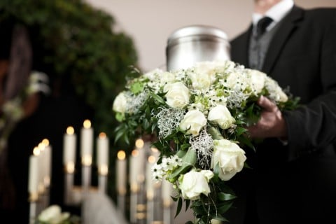 葬儀 花 葬式 お墓3