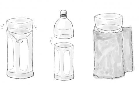 ペットボトル 水耕栽培 イラスト