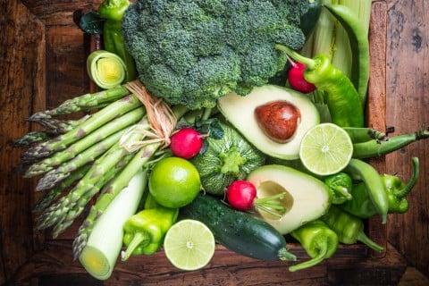 秋 野菜 緑