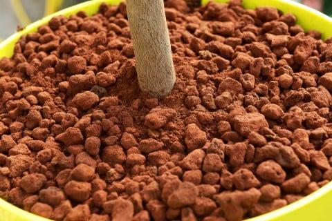 大粒 赤玉土 赤土 植え付け 土作り