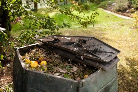 肥料 コンポスト 庭 腐葉土 堆肥
