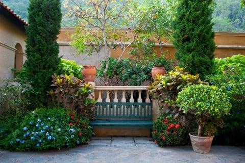 庭 日陰 半日陰 シェードガーデン ガーデニング 寄せ植え 鉢植え