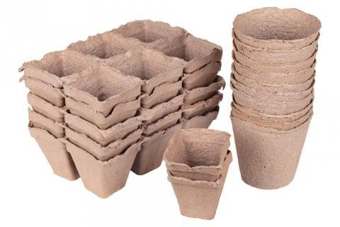 ジフィーポット 容器 鉢 土に返る
