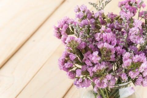スターチス 花 紫 ドライフラワー 切り花