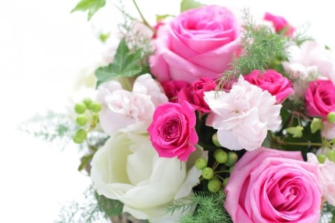 花束 バラ