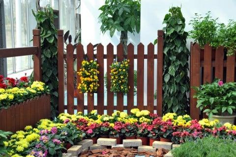 エクステリア 花壇 フェンス DIY