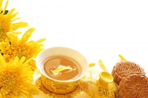 キク 食用菊 お茶