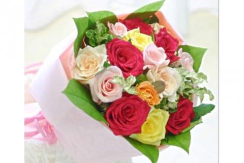 要出典 花束 バラ 母の日