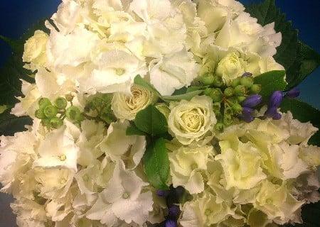 要出典 アジサイ 花束