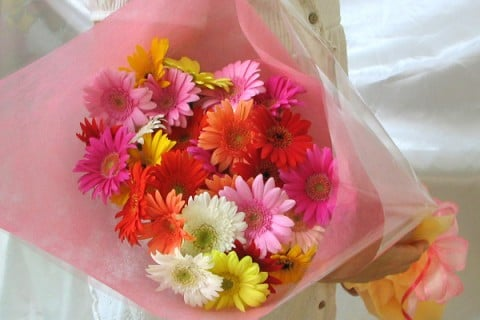 ガーベラ 花 花束