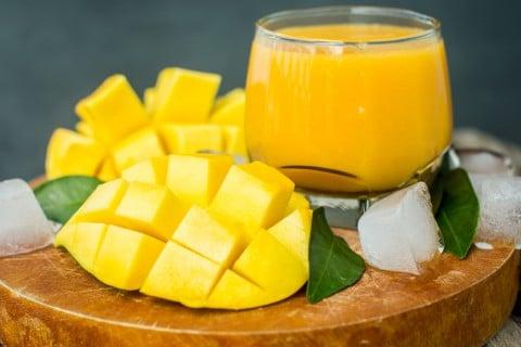 マンゴー ジュース 果肉