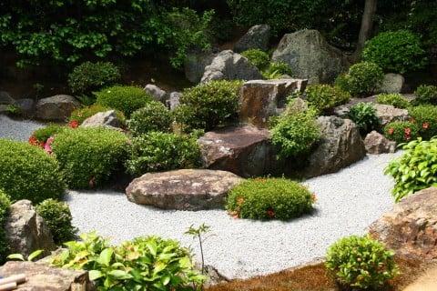 砂利 ガーデニング 庭 盆栽 和