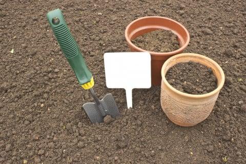 土 ガーデニング 鉢