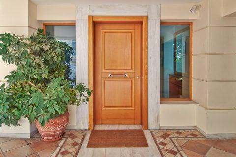 玄関 カポック 観葉植物 シェフレラ