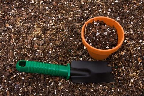 鉢 土 ガーデニング スコップ