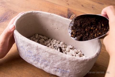 オリジナル アイビー 寄せ植え 鉢 土