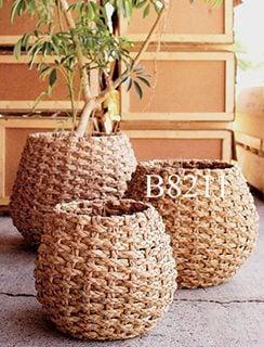 要出典 --ラタン鉢カバーΦ47×h42-inΦ34cm B8211-観葉植物-モダン-ナチュラル-インテリアグリーン- -おしゃれ-人気-引越し祝い-開店祝い-新築祝い 結婚祝い-お祝い-観葉植物通販-