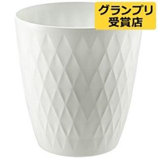 要出典 リッチェル-キンバリー-鉢カバー-10-ホワイト-