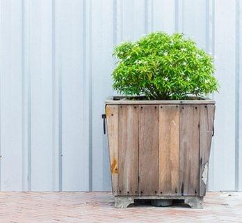 観葉植物 鉢カバー