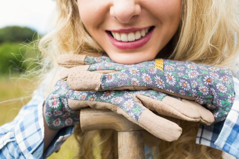 ガーデニング 手袋 女性