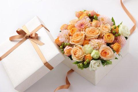 贈り物の花