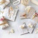 100円DIY 100円ショップ hanaの植物あそび クリスマス ドライフラワー バレンタイン プリザーブドフラワー ラッピング